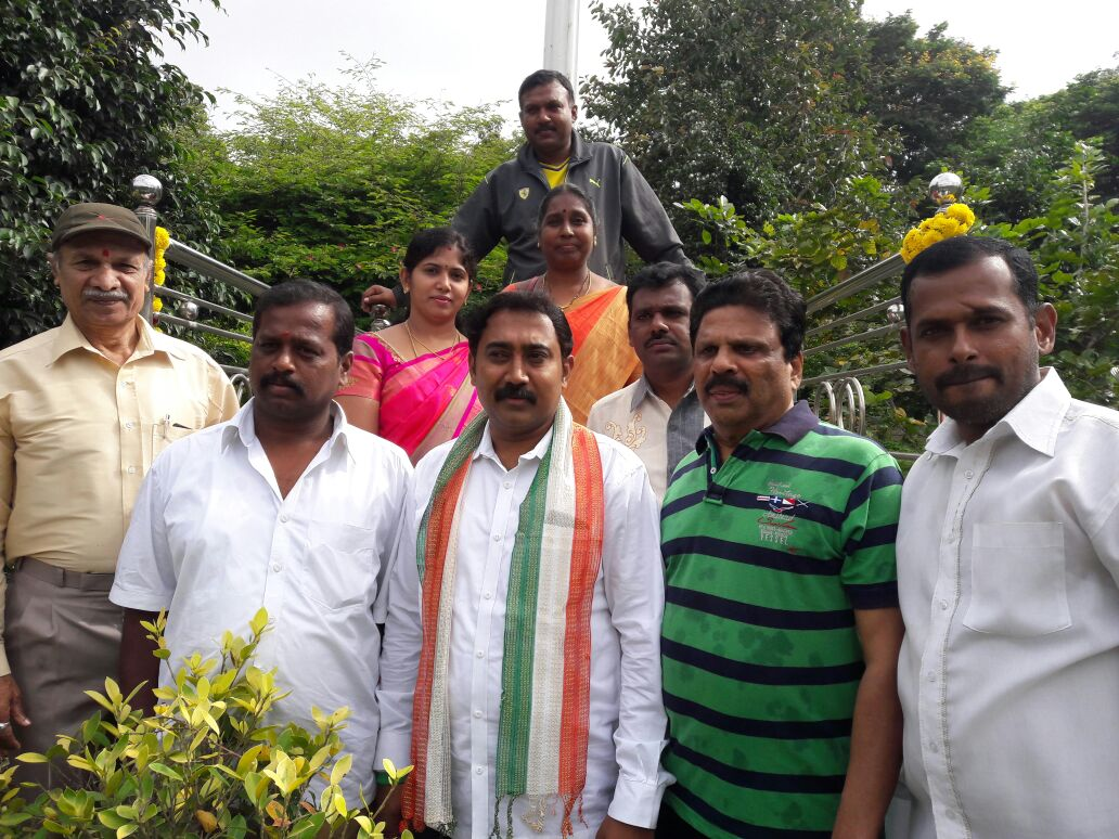 Sri Umesh Kabbal and residents