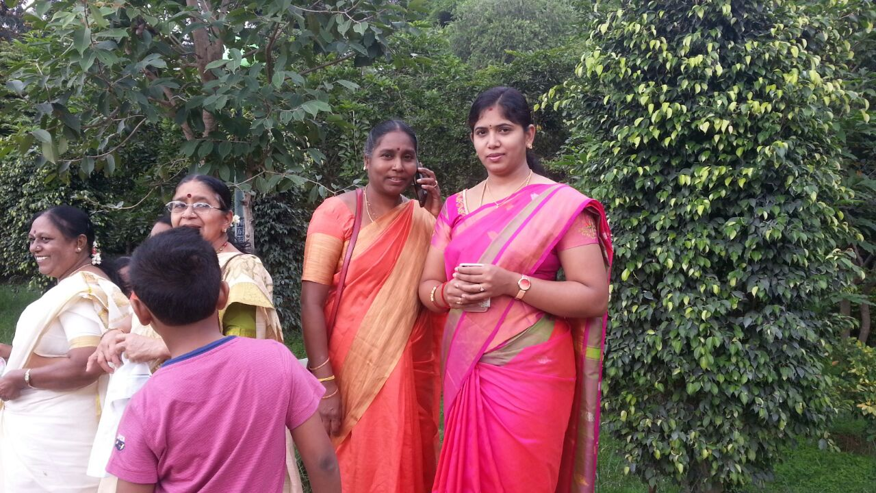 Smt Lakshmi Umesh, BBMP councillor for Ganesh Mandir Ward