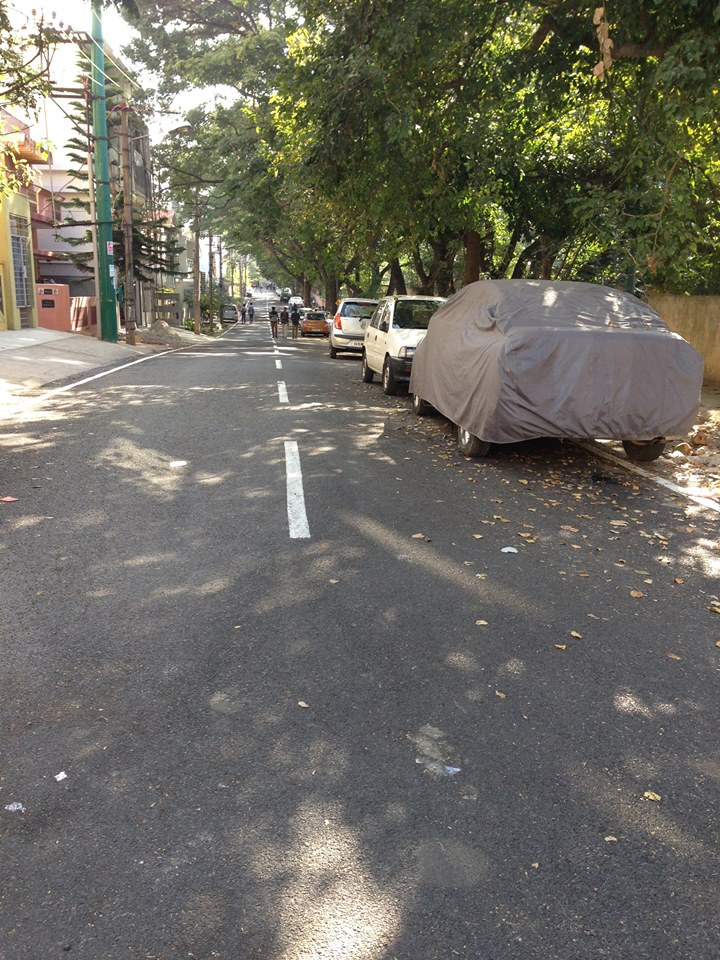 Tarred Road Near BDA Complex