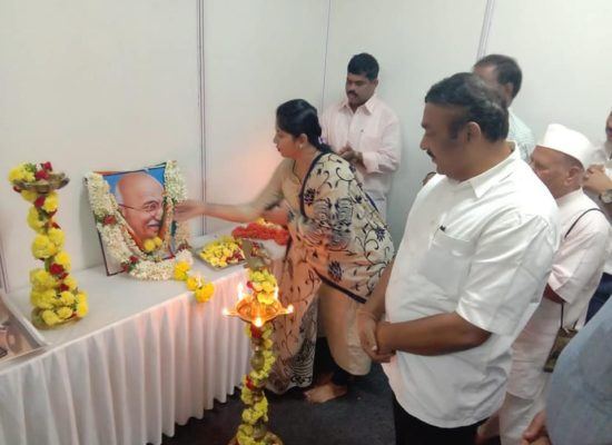 State level khadi and village industries Exhibition Inaguration    by MLA Sri.Ra